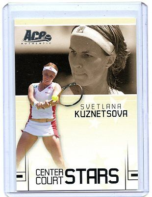 2006 Ace Authentic Center Court Stars Svetlana Kuznetsova Cc 19   327 599