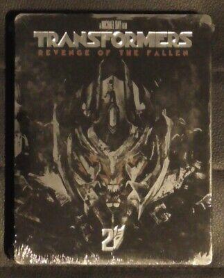 Transformers: Revenge of the Fallen Region Free Blu-Ray Steelbook Italian Import