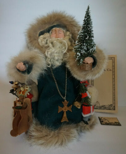 Classically Elegant, Folksy, and Unique Father Christmas, Claus & Co., 1991