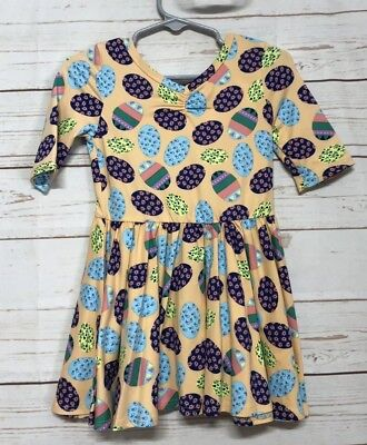 Dot Dot Smile Dress 2T Easter Eggs Spring Fancy Ballerina Twirl Lularoe -