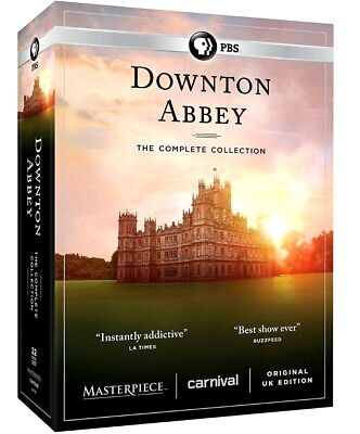 DOWNTON ABBEY Complete Series Seasons 1-6 DVD Set 1 2 3 4 5 6 NEW