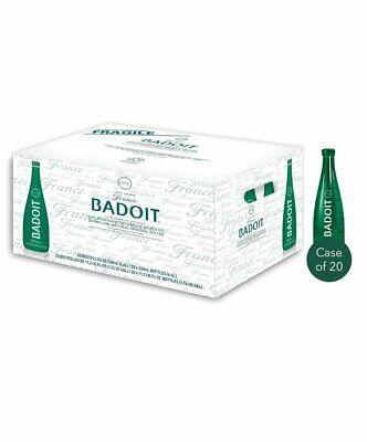 Badoit Sparkling Natural Mineral Water, 20 x 330ml Bottles