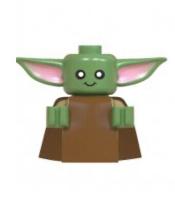 STAR WAR BABY YODA CUSTOM MINIFIGURE THAT GOES WITH LEGO USA SELLER