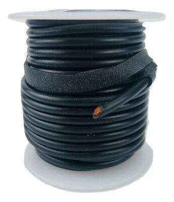 El614006 14 Awg Gauge Gpt By Deka Stranded Hook Up Wire Black 25 Ft 02402