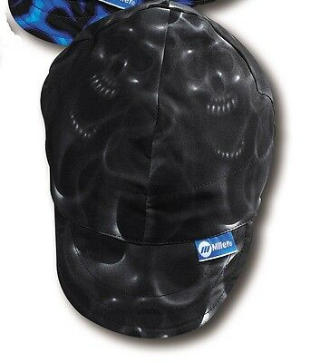 Miller Ghost Skulls Welding Hat Size 7-34 230546