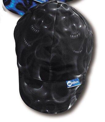 Miller Ghost Skulls Welding Hat Size 7-18 230542