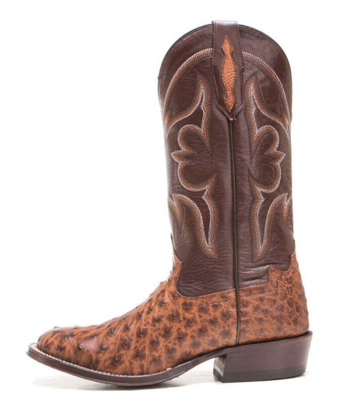 Tony, Lama, Vintage, Full, Quill, Ostrich, Cowboy, Boots, TL5353, Mens, Size, 12, D, $400, New
