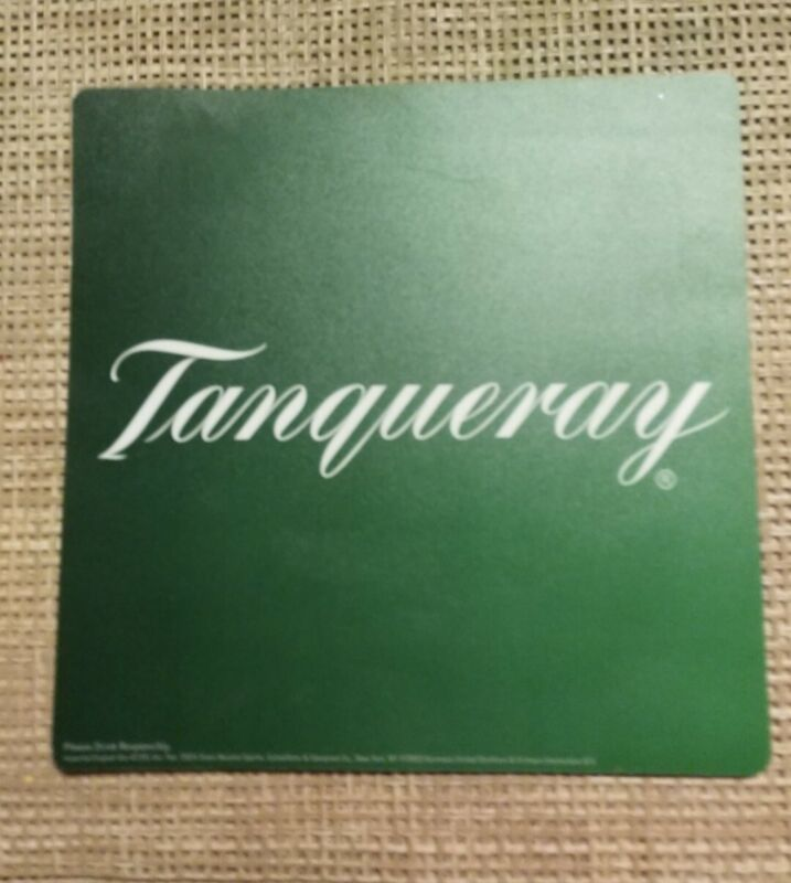 Tanqueray Gin Distillery Liquor Mouse Pad (9 x 9) VG Shape !!