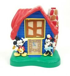 Vtg 1994 Seiko Quartz Mickey, Minnie Mouse & Donald Duck Talking Alarm Clock