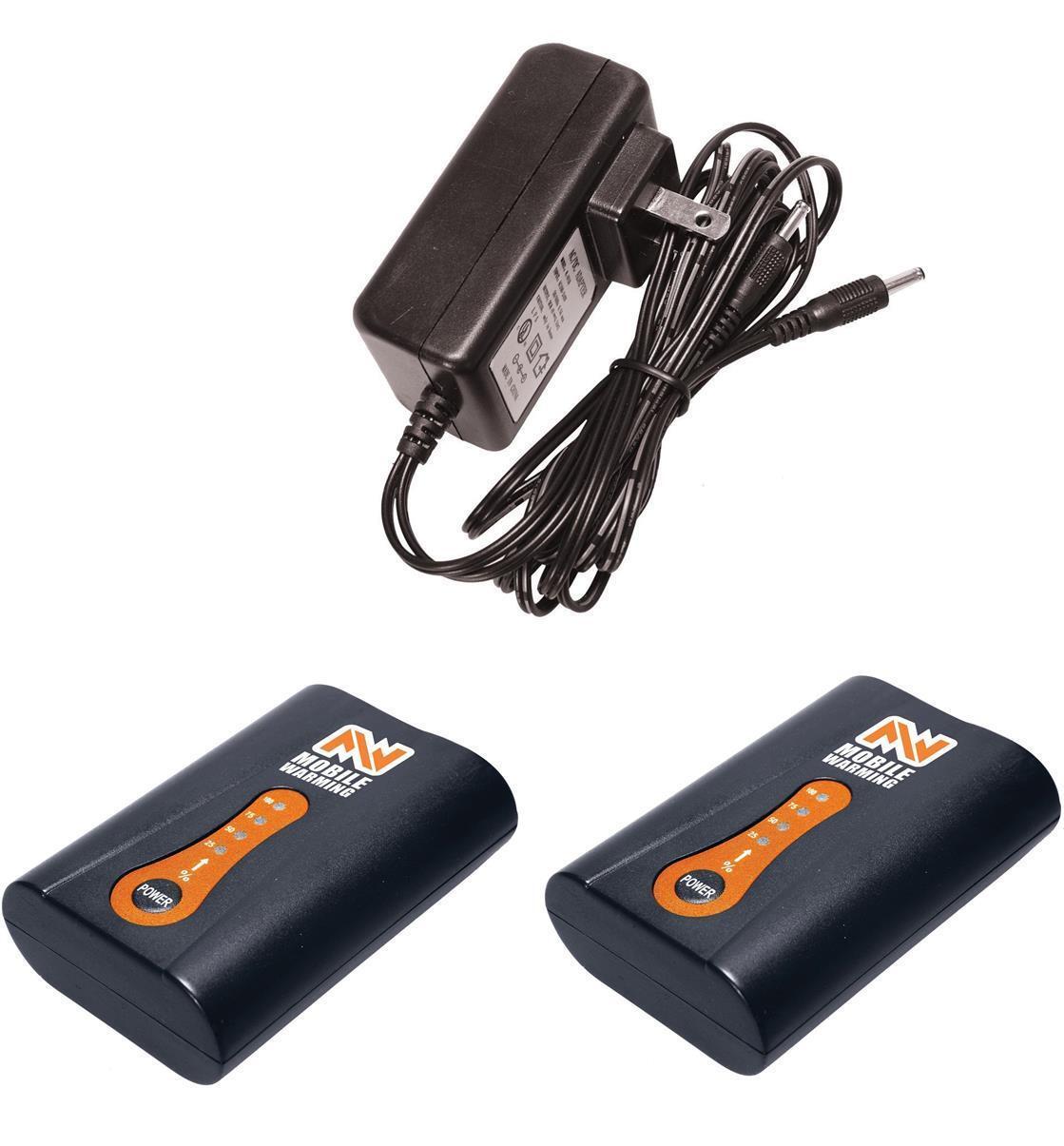 ANSAI Mobile Warming Rechargeable 7.4-Volt Lithium-Ion Batteries w/ Dual charger