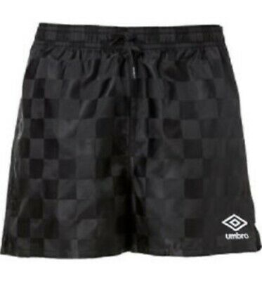 d9717b8fa3 NEW Umbro Soccer Athletic Gym Shorts Black Youth Large (14-16)