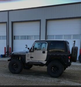 2000 jeep tj lifted