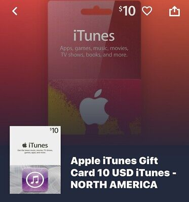 Itunes Gift Card Online 10$ for sale  Shipping to Nigeria