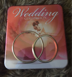 Brand new wedding CD collection in its own tin