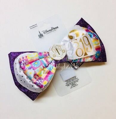 Disney It's A Small World Interchangeable Minnie Swap Your Bow Ears Headband