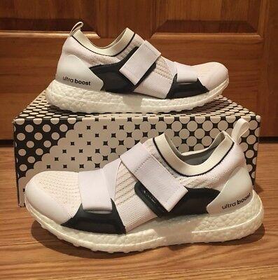 33c92729320 Adidas Stella McCartney Ultra Boost X Women s Shoes CM7884 White Black Size  8.5