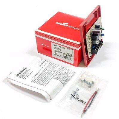 Sm-1224-r Cooper Wheelock Sync Module Red