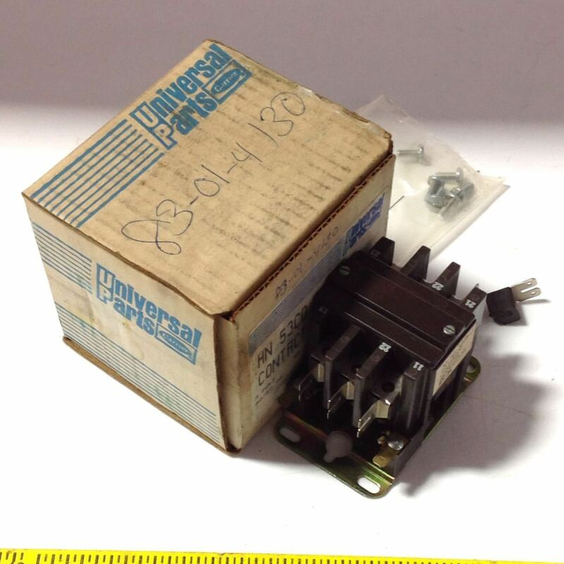 CARRIER 50/60HZ 3-POLE 110/120V COIL 40A CONTACTOR HN 53CD 115, PLASTIC 103331