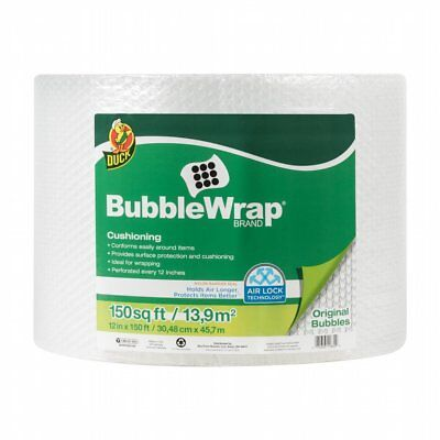 Bubble Wrap Cushioning Roll 12 In. X 150 Ft Packing Shipping Storage Moving