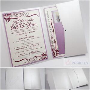 Ice white shimmer rectangle wedding invitation envelopes for Wedding invitation envelopes for sale