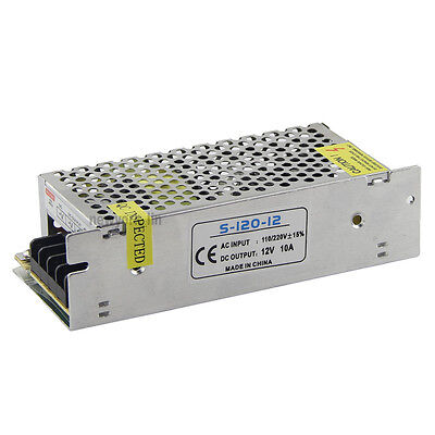 12v 10a 120w Slim Size Led Transformer Switching Led Power Supply Led Ac110-240v