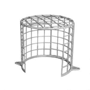 All weather Anti Vandal CCTV camera Cage/ Guard Opal- Cut Out
