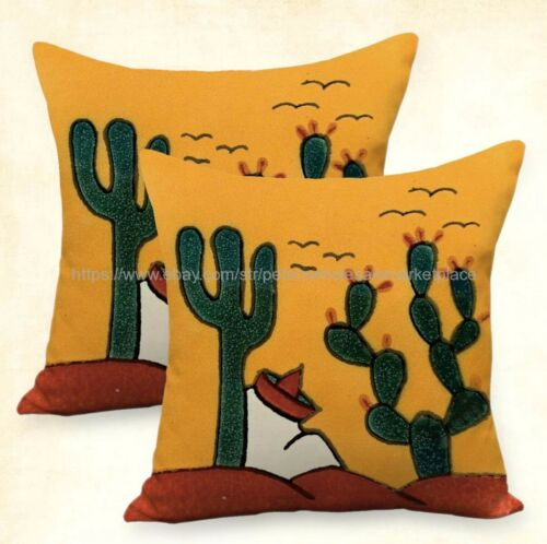 set of 2 living room pillow covers