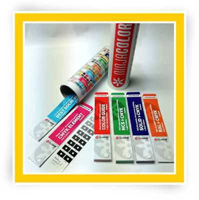 Ninja Color Six Coated - Color Guide Pantone Ncs Ral For Process Printing