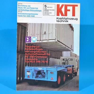 DDR KfT Kraftfahrzeugtechnik 5/1979 Moskwitsch 2140 Chrysler Simca Autosuper K