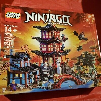 LEGO 70751 NINJAGO TEMPLE OF AIRJITZU NEW IN SEALED BOX