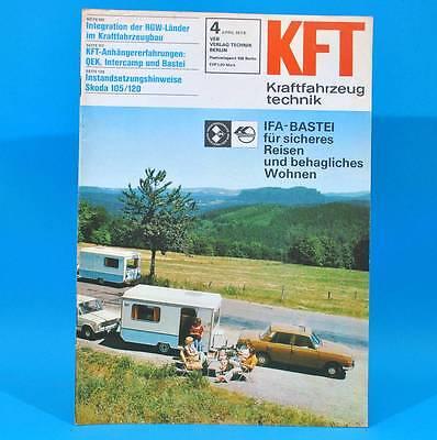 DDR KfT Kraftfahrzeugtechnik 4/1978 ARO Skoda 105/120  QEK Intercamp Bastei H