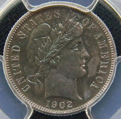 Click now to see the BUY IT NOW Price!  1902 PROOF BARBER DIME PCGS PR64 STUNNING LUSTER AND BLUE COLOR