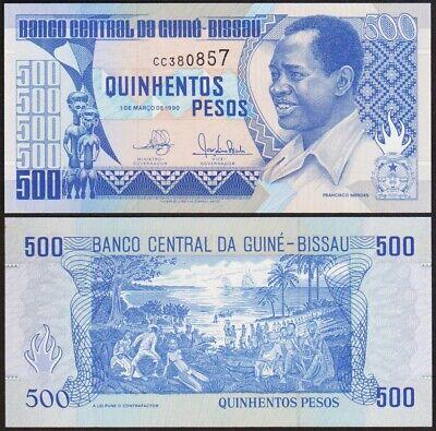 500 PESOS 1990 GUINEE BISSAU / GUINEA BISSAO [NEUF / UNC] P11