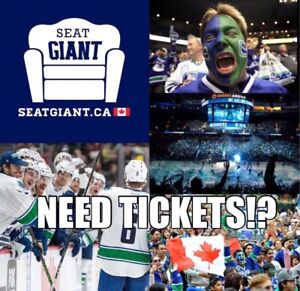 VANCOUVER CANUCKS PRE-SEASON TICKETS FROM $16!!!