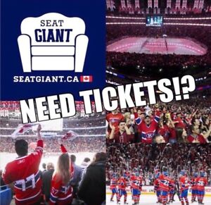 MONTREAL CANADIENS TICKETS FROM $39 CAD!!!