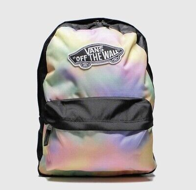 VANS Realm Backpack AURA Wash/black Rucksack  - Brand New With Tags RRP £30