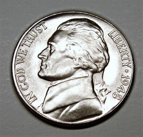 1948 D BU Jefferson Nickel Pulled From OBWRoll