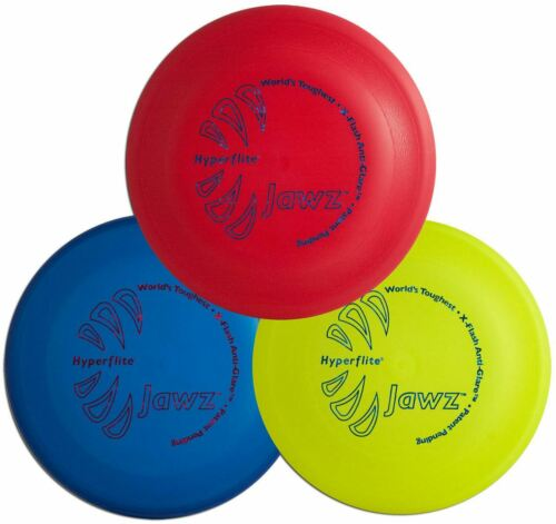 Hyperflite Jawz 3 Pack - Durable Frisbee Dog Discs - Heavy D