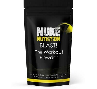 Pre Workout Supplement Powder Muscle Growth and Energy Drink Shake Fruit Punch