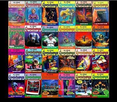 Goosebumps Books 10 for $22 Free Shipping!