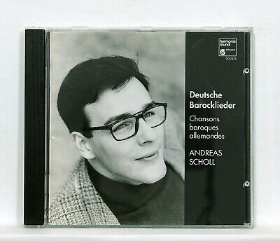 German Baroque Chamber Music - ANDREAS SCHOLL german baroque songs HARMONIA MUNDI CD NM