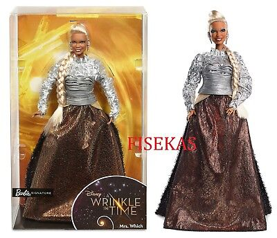 Barbie Disney A Wrinkle in Time MRS WHICH Doll (Oprah Winfrey) 2017 NEW