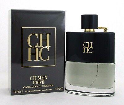 Ch Prive By Carolina Herrera 3 4 Oz Edt Spray For Men New In Damaged Sealed Box