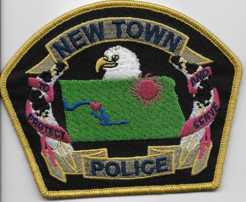 NEAT New Town Police State North Dakota ND patch NEAT