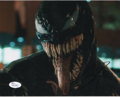 Tom Hardy Venom Autographed Signed 8x10 Photo JSA COA EE14
