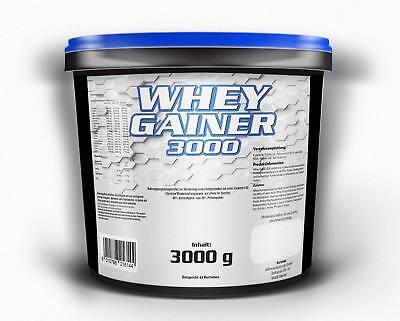 6,6€/Kg WHEY GAINER Eiweiß Aminosäuren Pulver Muskelaufbau Kohlenhydrate Protein Muskelaufbau