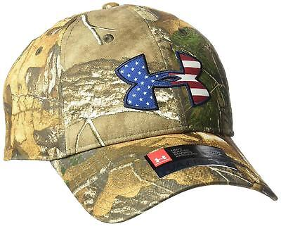 0c133f64f7b Under Armour Men s Camo BFL Flap Cap One Size Adjustable Snapback Hunting