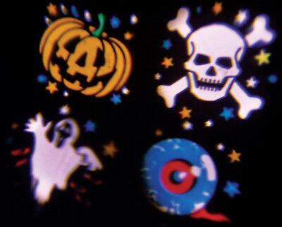 LED Halloween Projector Spooky Outdoor House Garden Wall Effect Light NEW