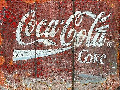 Coca Cola Coke, Retro replica vintage style metal sign/plaque Gift bar/pub