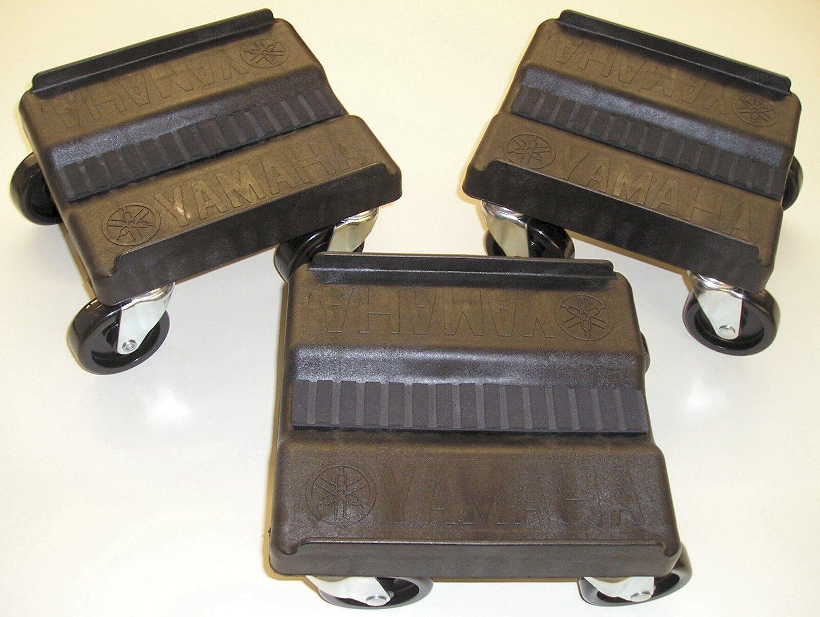 Heavy Duty Snowmobile Casters Shop Caddies Dolly Dollies Genuine Yamaha Black